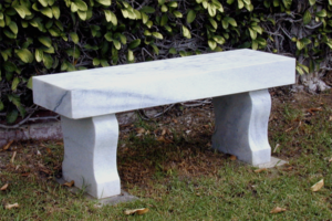 Marble Victorian Bench