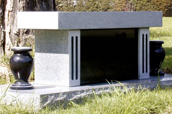 White Cremation Bench