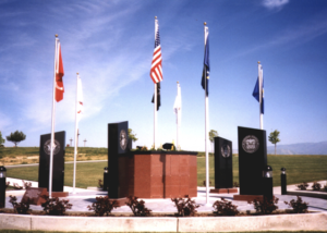Veterans Memorial and Columbarium Planter