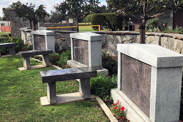 Family Garden Monument Bench