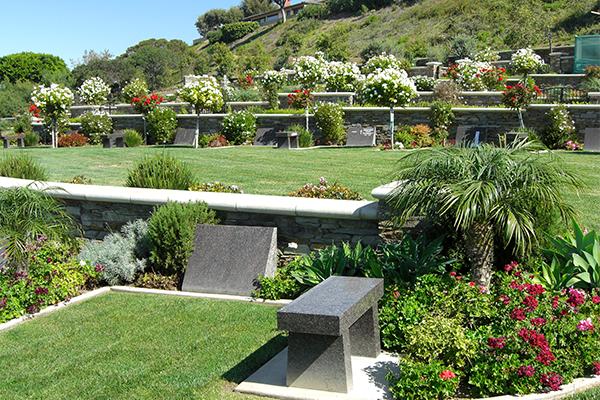 Mahogany Garden Bench and Slant