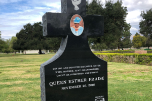 Cross Cameo Monument