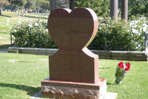 Ruby Red Heart Monument