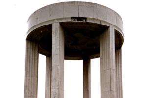 Before Image of Al Jolson Memorial