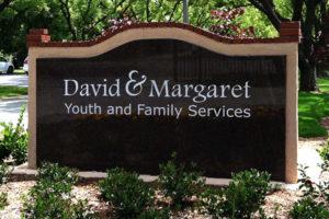 David & Margaret Entrance Sign