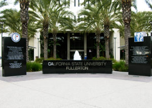 Cal State Fullerton Signage