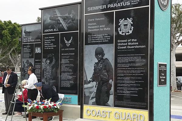 Norwalk City Hall Veterans Memorial