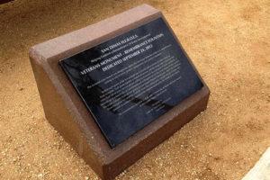 San Dimas HEROES Dedication Plaque