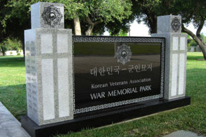 Korean Veterans Dedication Monument