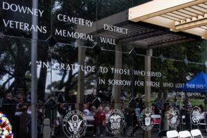 Veterans Dedication Memorial Wall