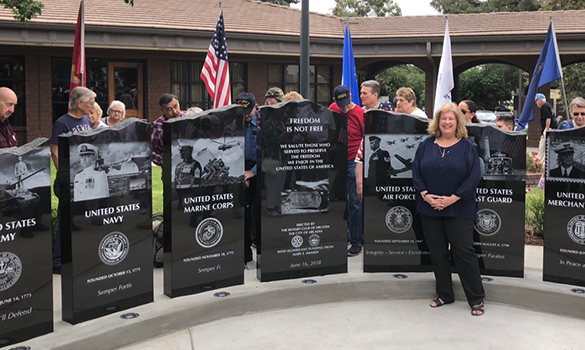 City of Arcadia's Veteran's Memorial