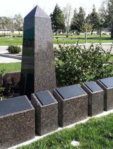 Obelisk Urn Feature