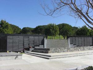 Rose Hills Cenotaph Wall